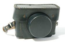 Revue black leather case for Revue 400 400S 400SE cameras Ref. 122020