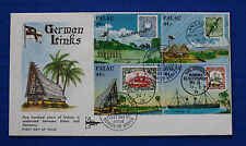 Palau (C9a) 1985 German Links to Palau FDC by Gill Craft