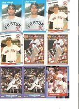 18 CARD CALVIN SCHIRALDI BASEBALL CARD LOT            22