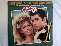 Vintage Grease Original Soundtrack Double Vinyl LP Record 1st Press 1978 VG