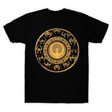 Saint Seiya 12 Constellation Athena Gold Saints Zodiac Sign Black T-Shirt