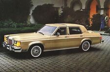 1980 LINCOLN VERSAILLES Brochure / Catalog with Color Chart