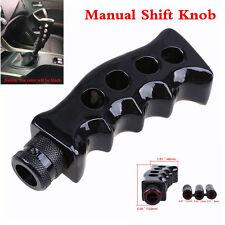 Pistola de agarre mango cuchillo negro Transmisión Manual Gear Shift Perilla De Palanca De Cambios Kit de coche