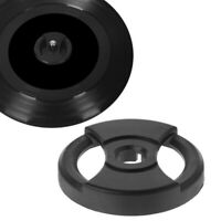 "Spindle Adaptor for 7"" Vinyl Records 45rpm Singles Insert Centre Spider (Black)"