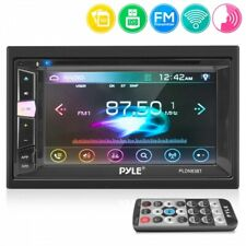 Pyle PLDN83BT 6.2'' Touch Screen TFT/LCD Double DIN In-Dash Monitor, CD/DVD/USB