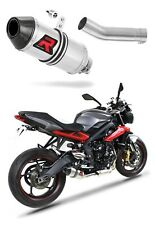 Street Triple R 675 Exhaust HP3 Dominator Racing silencer muffler 2013 - 2016