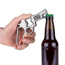"True Fabrications Foster & Rye ""Pop a Cap Off"" Pistol / Gun Bottle Opener"
