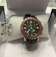 Tissot Seastar T0664171705701 1000 Red Ceramic 300M Diver's Chronograph