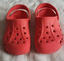 Kids Crocs Size 10-11 Red Girls Boys Unisex