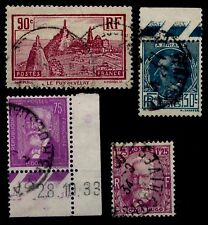 L'ANNÉE 1933 Complète, Oblitérés = Cote 14 €  / Lot Timbres France
