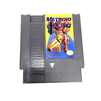 Metroid NES Nintendo Authentic Rare Yellow Label Version Nintendo Entertainment