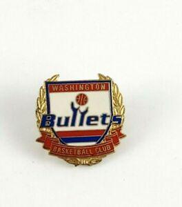 Vintage NBA Basketball Washington Bullets 1994 PETER DAVID Pin RARE HTF