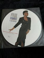 "Paul Hardcastle (& Carol Kenyon): Don't Waste My Time UK 12"" PICTURE DISC"