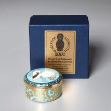 ROYAL CROWN DERBY LTD. ED. ENAMEL BOX MILLENNIUM UNICORN BY CRUMMLES 33/500