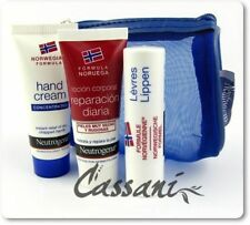 NEUTROGENA Hand Cream, Lip Stick, Body Lotion SET