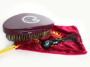 360 720 wave brush reinforced nylon boar bristle medium hard soft brush cleaner