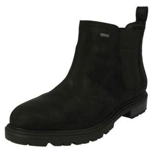 Womens-Clarks Pull on Ankle Boots Doxburyjazzgtx