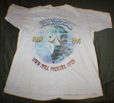 Vtg Hotel California Eagles Hell Freezes Over 1994 Tour Concert T Shirt XL RARE