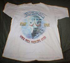 Vtg Hotel California Eagles Hell Freezes Over 1994 Tour Concert T Shirt XL RARE