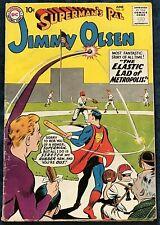 Superman's Pal Jimmy Olsen #37  June 1959  The Elastic Lad Of Metropolis!
