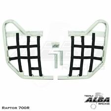 Yamaha Raptor 700  Nerf Bars   Alba Racing    Silver Black 197 T1 SB