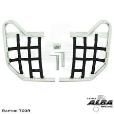 Yamaha Raptor 700  Nerf Bars   Alba Racing    Silver Black 197 T1 SB