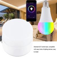 E27 Wifi Smart Multi-Color RGBW LED Light Bulb for Alexa Google Home App Control
