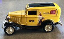 Vintage 1999 Coke No 16 Delivery Truck 1932 Coca Cola Panel Van Bank Scale: 1/43