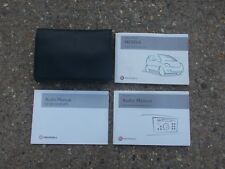VAUXHALL MERIVA MK1 MPV MODELS 2003-2010 FOLDING WALLET WITH OWNERS MANUAL PACK
