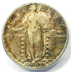 1927-S Standing Liberty Quarter 25C Coin - Certified ANACS XF40 - $780 Value!