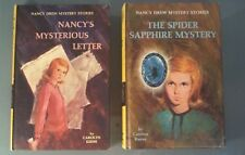 (2) Nancy Drew Mystery Stories 1968 by Carolyn Keene