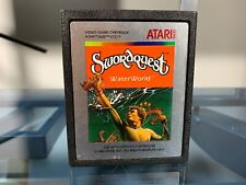 Swordquest Waterworld for Atari 2600 video game cartridge