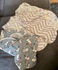 Bundle Joblot Baby Sleeping Bags Swaddle Wraps Blankets