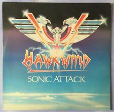 HAWKWIND - SONIC ATTACK Vinyl LP 1981 RCA Catalogue RCALP 6004