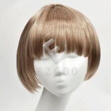 New Women Girl BOB Straight Short Cosplay Party Wigs Hair Hairpiece EBHA37