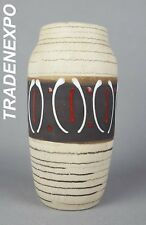 Vintage 60s 70's SCHEURICH KERAMIK Vase 242/22 West German Pottery Fat Lava Era