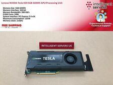 Lenovo NVIDIA Tesla K20 5GB GDDR5 GPU Processing Unit  -  03T8818