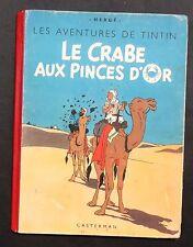 Hergé. Le Crabe aux Pinces d'Or. 1942 GRANDE IMAGE. Album en noir et blanc A18.