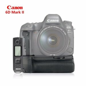 Meike MK-6DII Pro Battery Grip Built-in 2.4g Wireless Control For Canon 6D 6D2