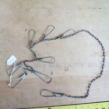 New listing Vintage Millsite Howell Mich. Usa fishing stringer (lot#10632)