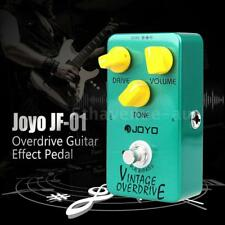 Joyo JF-01 Pedal Vintage exquisite mellow Overdrive Guitar Effects True Bypass