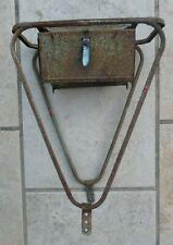 porte bagage arrière avec boites à outil pour vélo  650b ancien vintage