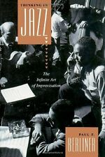 """THINKING IN JAZZ: THE INFINITE ART OF IMPROVISATION"" BOOK-BRAND NEW ON SALE!!"