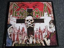 Pendemia-Narcotic Religion LP-1990 UK-Trash Metal-33 U/min-Album-C.M.F.T 4