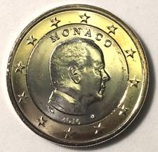 1€ Monaco Prince Albert II 2016