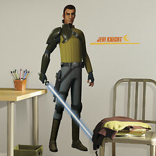 KANAN GiaNT WALL DECAL BiG Star Wars Rebels Stickers NEW Bedroom Game Room Decor