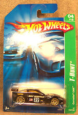 HOT WHEELS ~ 2007 T-HUNT ~ 2007 CORVETTE C6R ~ BLACK ~ TREASURE HUNT