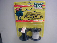 Sticky Roll Fly Tape System - Contains 81 Feet of Fly Trapping Tape + Hardware