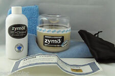 ZYMOL GLASUR GLAZE 8oz. HD CLEANSE 8.5oz. MICROFIBER TOWEL PRE WAX APP PORSCHE