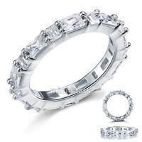Hochwertiger Verlobungsring Eternity 925 Sterlingsilber viele Zirkonia FR8070